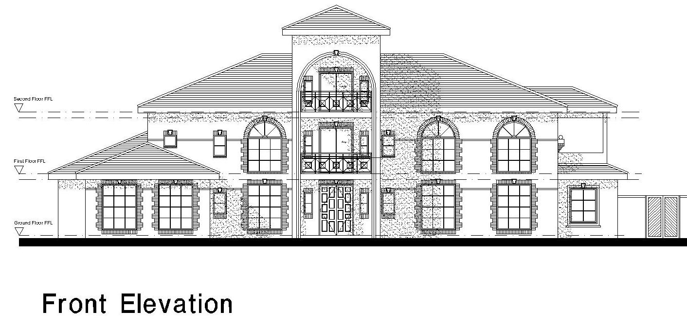 Modern House Front Elevation Drawing : Tips home design d elevations modren houses